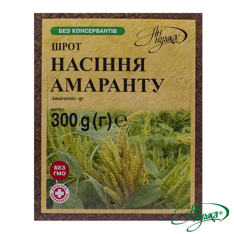 Amaranth seeds meal, 300 g