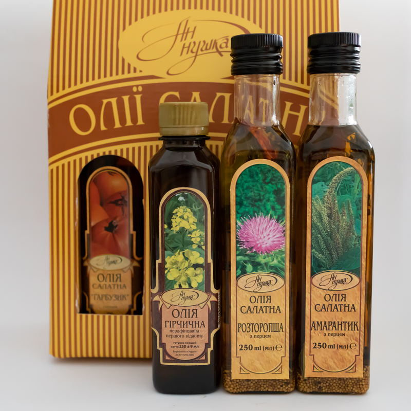 Salad oil set 6 pcs.