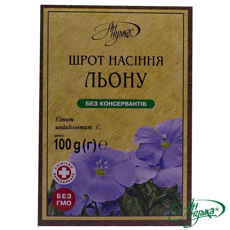 Шрот насіння льону, 100 г