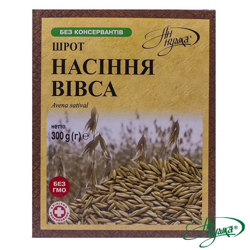 Oat seeds meal, 300 g