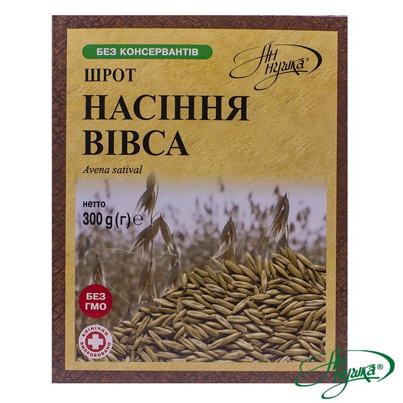 Шрот насіння вівса, 300 г