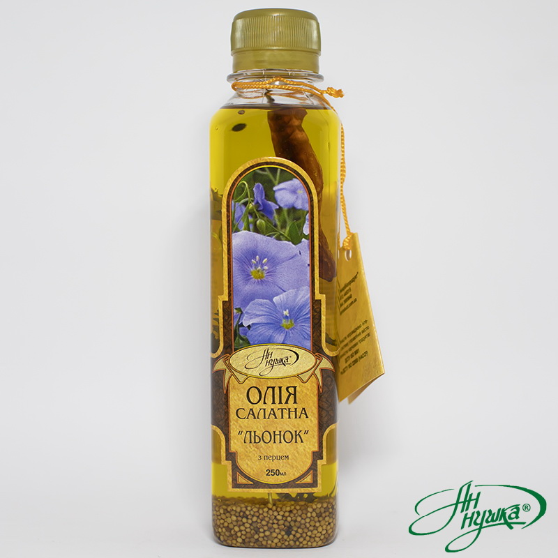 SALAD OIL «FLAX WITH PEPPER»