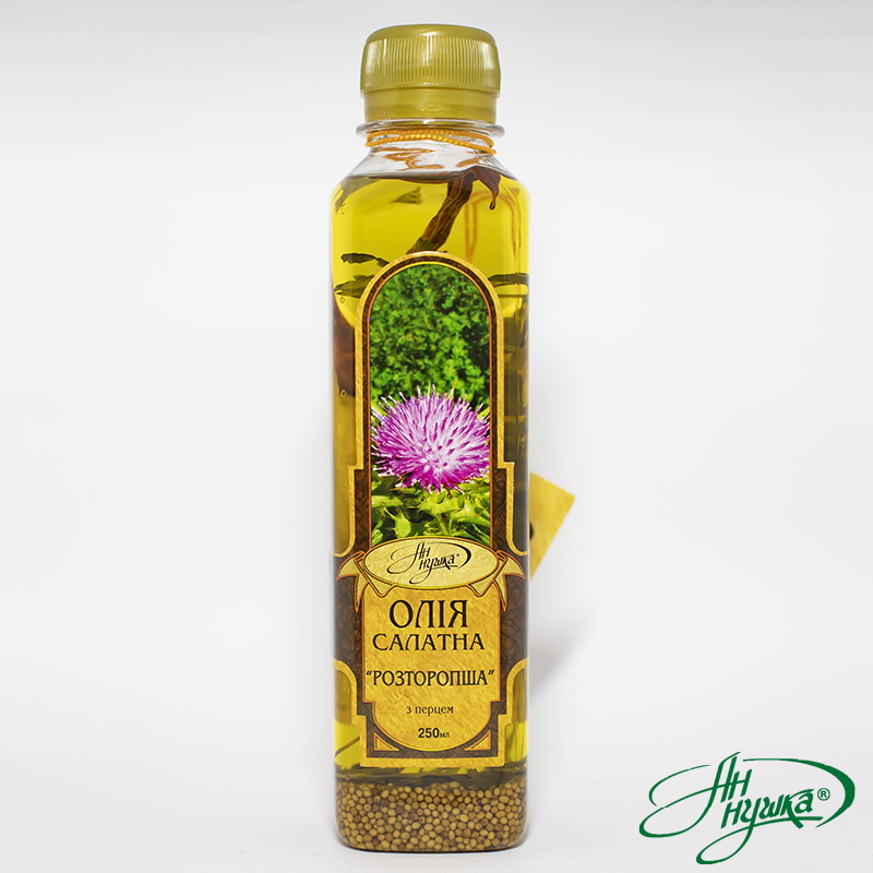 SALAD OIL «MILK THISTLE WITH PEPPER»