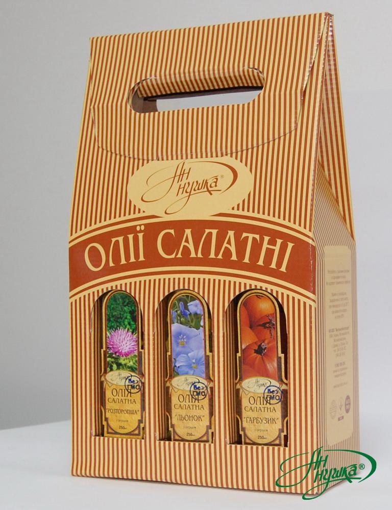 Набір салатних олiй 6 шт.