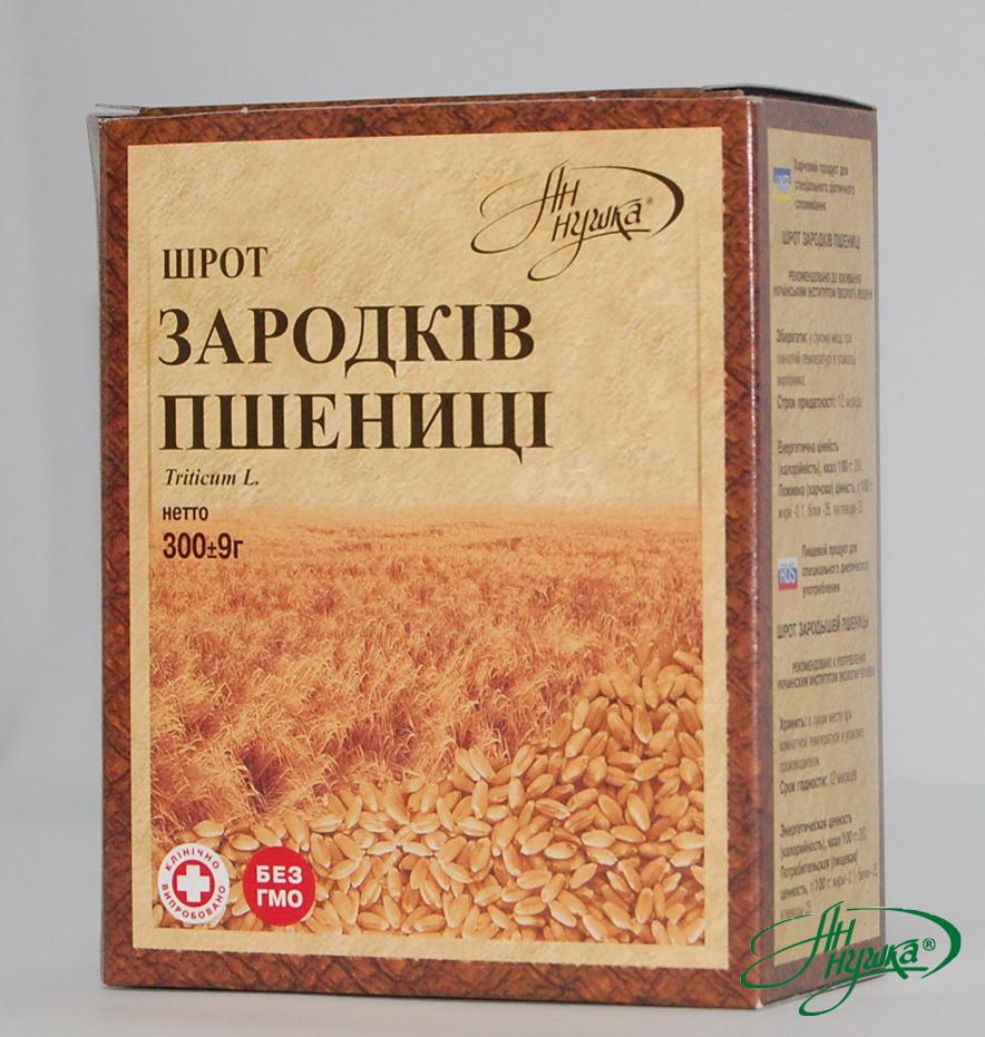 Шрот зародышей пшеницы, 300 г