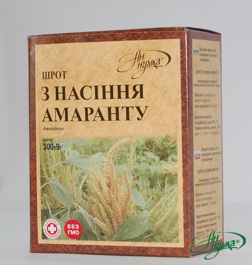 Шрот насіння амаранту, 300 г